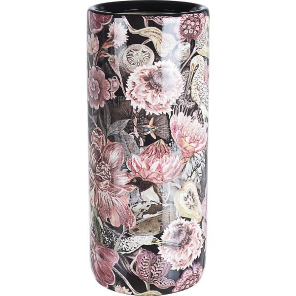 Schirmständer Blumen rosa Porzellan H46