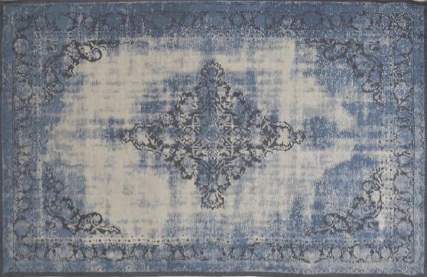 Vintage-Teppich Antiquity hellblau 200x300