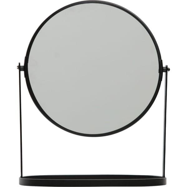 Tischspiegel Yentl L Metall Schwarz 32