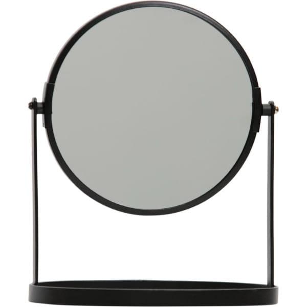 Tischspiegel Yentl M Metall Schwarz 24