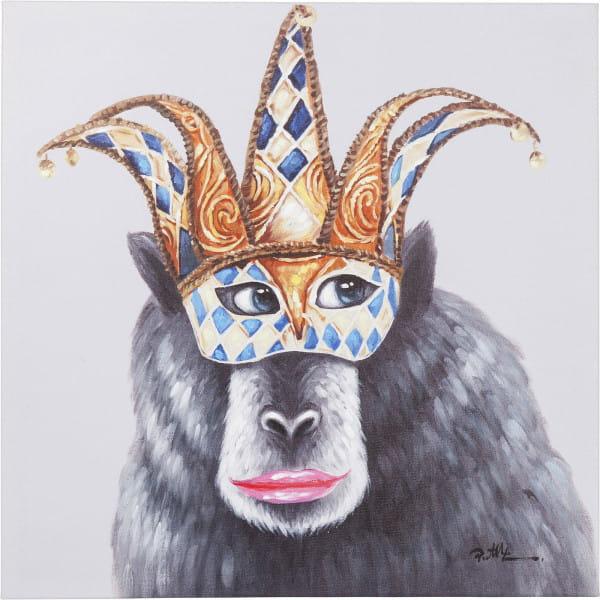 Bild Touched Carnival Monkey 70x70cm