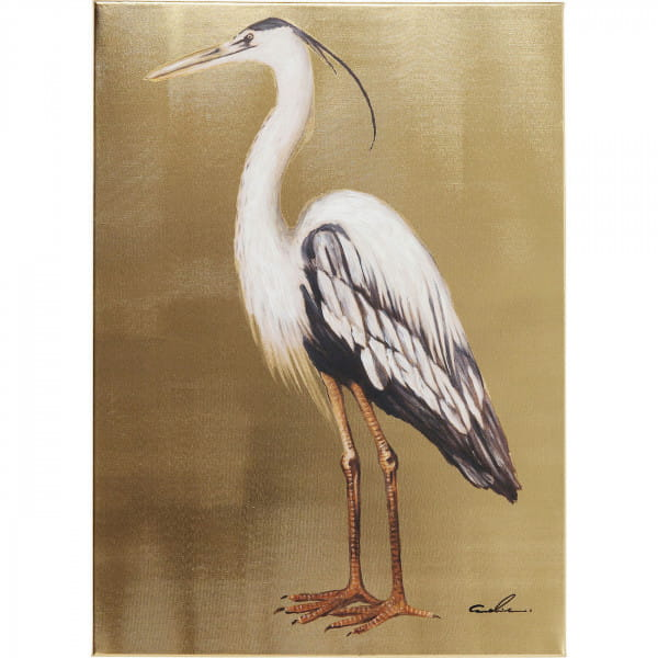 Bild Touched Heron Left 70x50cm