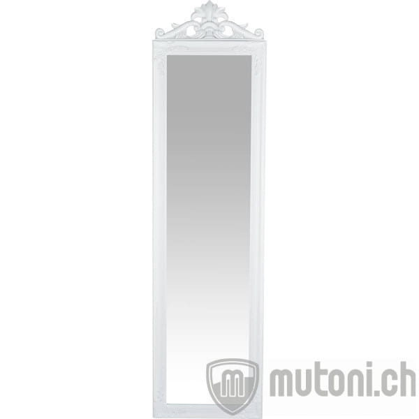 Standspiegel Baroque weiss 45x170