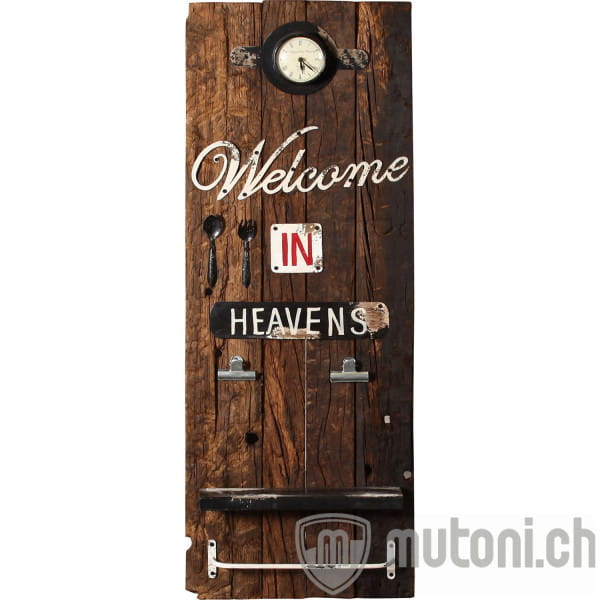 Wandpaneel Welcome 45x17x126