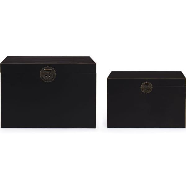 Koffer Pechino (2er-Set) schwarz