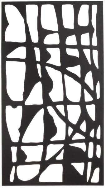Wanddekoration Zaira Schwarz 60x110