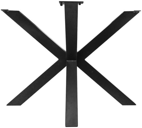 Tischgestell 3D-Modell Metall schwarz 100