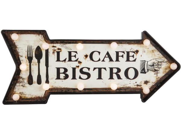 Leuchttafel Cafe Bistro