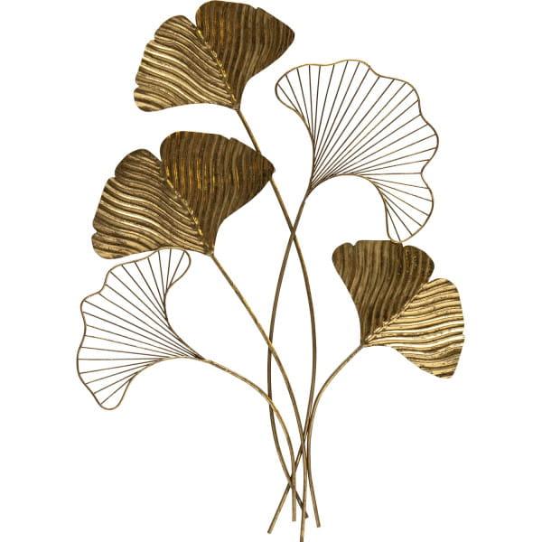 Wanddekoration Leafage Metall Antique Brass