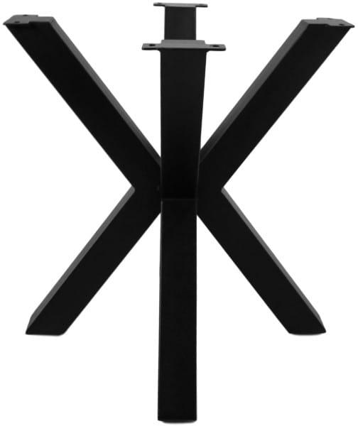 Tischgestell 3D-Modell Metall schwarz 80
