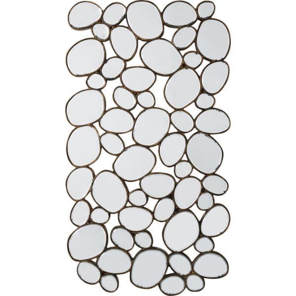 Spiegel Water Drops Copper 135x78