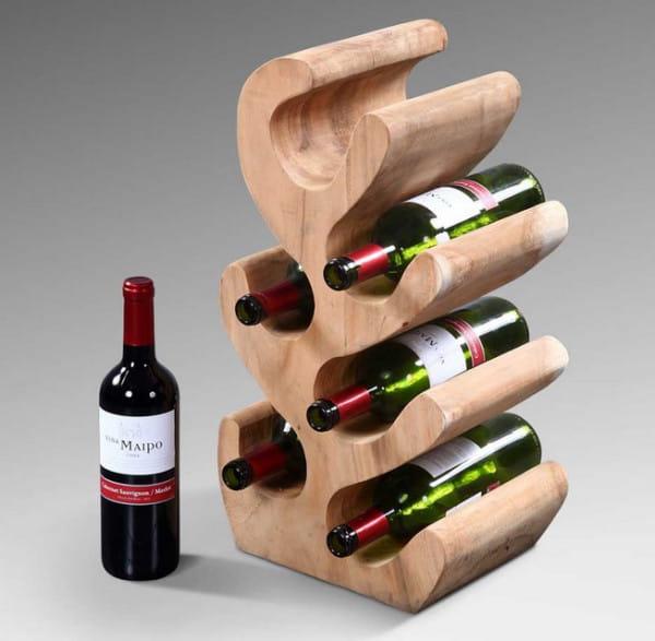 Image of Flaschenständer für 6 Flaschen 18x50