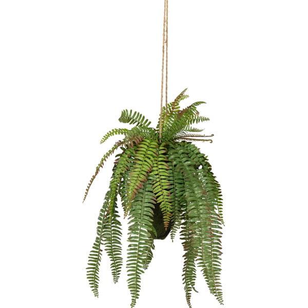 Künstliche Pflanze Farn Grün 58cm