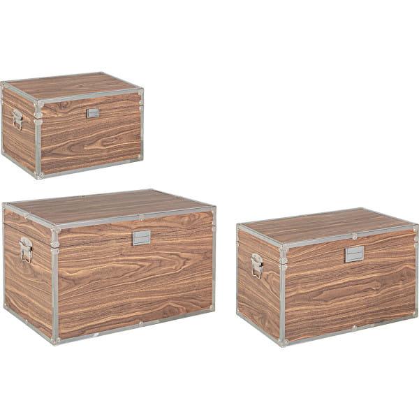 Koffer Elegance Set (3-tlg) braun