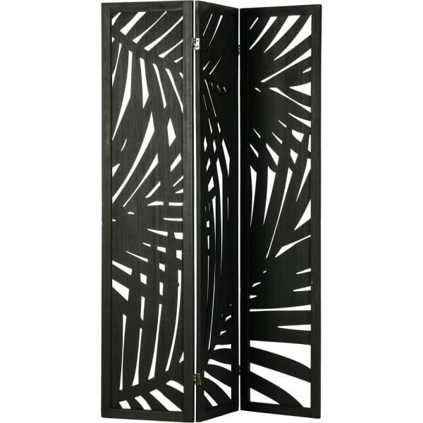 Paravent Harper schwarz 120x170