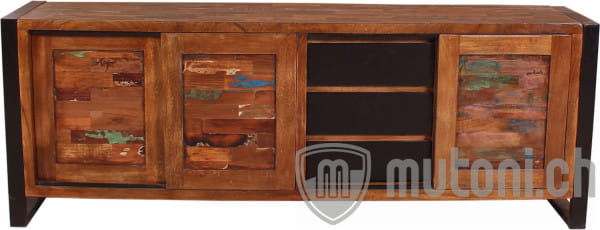 Sideboard Vintage Colored Agra bunt 180cm