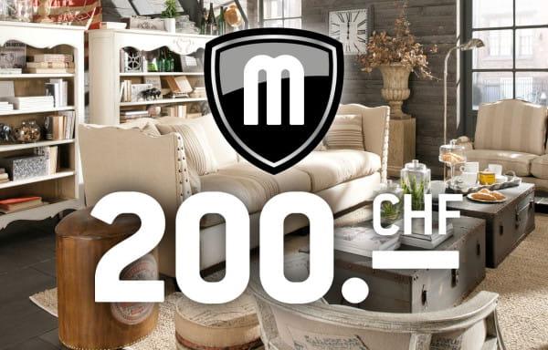Gutschein CHF 200.-