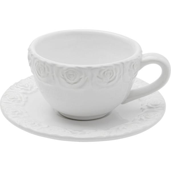 Kaffeetasse Rosa (2/Set)