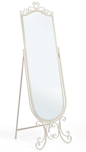 Giselle Standspiegel weiss H165