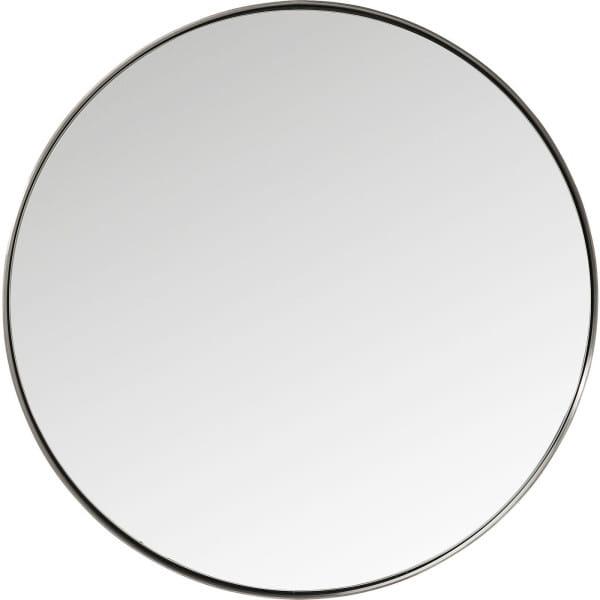 Spiegel Curve Round Steel Nature Ø100
