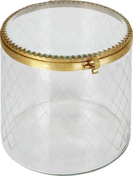 Schmuckbox Jewels Too Metall Glas