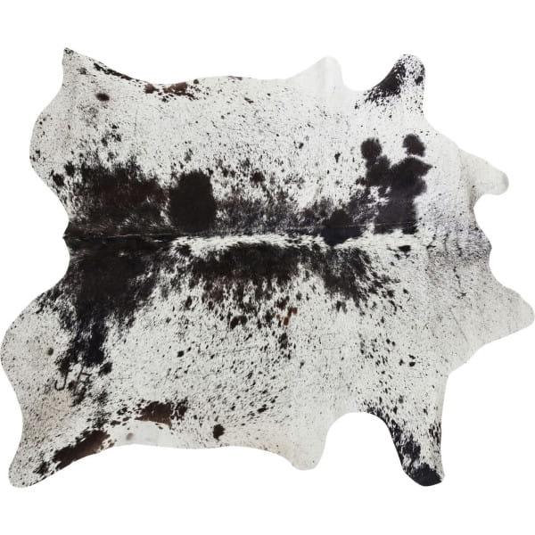 Teppich Hide Schwarz-Weiss