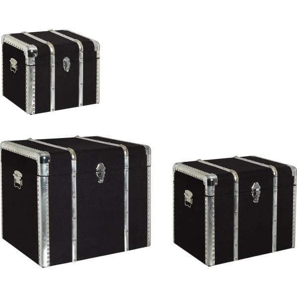 Koffer Ducalis Set (3-tlg) schwarz