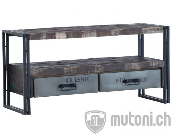 TV Möbel Industry Loft Colori 120cm
